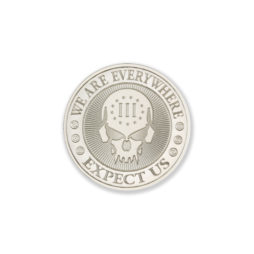 2021 – DEUCE FOUR SKULL – 1/2 TROY OUNCE – 39MM
