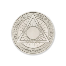 SOBRIETY COIN – 1 TROY OUNCE – 39MM