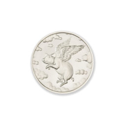 2021 – WHEN PIGS FLY – 1/2 TROY OUNCE – 39MM