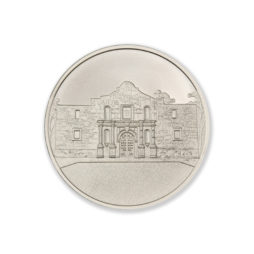 DON'T MESS WITH TEXAS / THE ALAMO  – 1 TROY OUNCE – 39MM